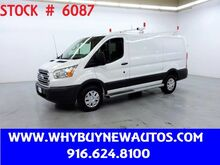 2018_Ford_Transit 250_~ Ladder Rack & Shelves ~ Only 8K Miles!_ Rocklin CA