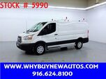 2018 Ford Transit 250 ~ Ladder Rack & Shelves ~ Only 8K Miles!