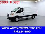 2018 Ford Transit 250 ~ Only 4K Miles!