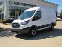 2018_Ford_Transit_250 Van Med. Roof w/Sliding Pass. 130-in. WB, BACKUP CAM, AM/FM/AUX, POWER WNDOWS/LOCKS/MIRRORS_ Plano TX