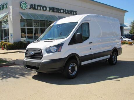 2018 Ford Transit 250 Van Med. Roof w/Sliding Pass. 130-in. WB, BACKUP CAM, AM/FM/AUX, POWER WNDOWS/LOCKS/MIRRORS Plano TX