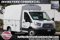 2018_Ford_Transit-350 Chassis Cab DRW_XL Royal 10.5' Plumber Body Diesel_ Irvine CA