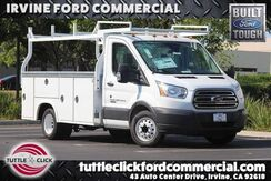 2018_Ford_Transit-350 Chassis Cab DRW_XL Royal 10.5' Utility Body Diesel_ Irvine CA