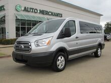 2018_Ford_Transit_350 Wagon Low Roof XLT w/Sliding Pass. 148-in. WB*BACK UP CAMERA,BLUETOOTH CONNECT,FACTORY WARRANTY_ Plano TX