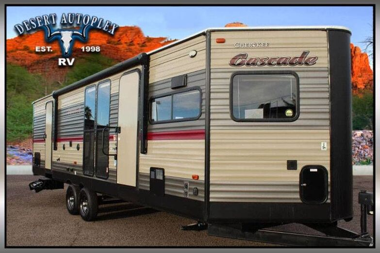 2018 Forest River Cherokee Cascade 274VFK Single Slide Travel Trailer Mesa AZ