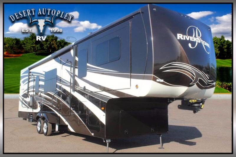 2018 Forest River Riverstone 39FL 5 Slide Fifth Wheel RV