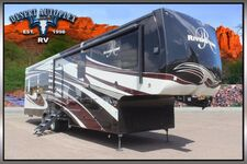 2018 Forest River Riverstone 39MO Triple Slide Fifth Wheel