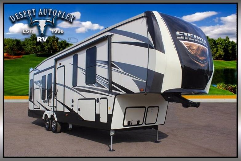 2018 Forest River Sierra 345RLOK Triple Slide Fifth Wheel RV Mesa AZ