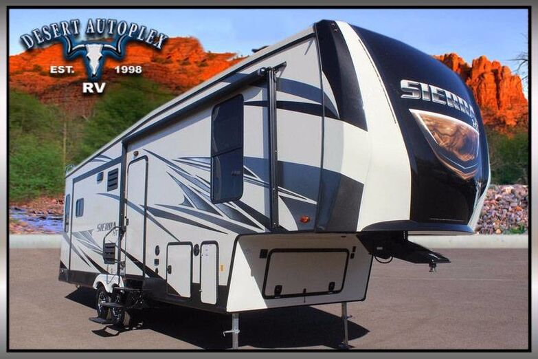 2018 Forest River Sierra HT 3250IK Triple Slide Fifth Wheel RV Mesa AZ