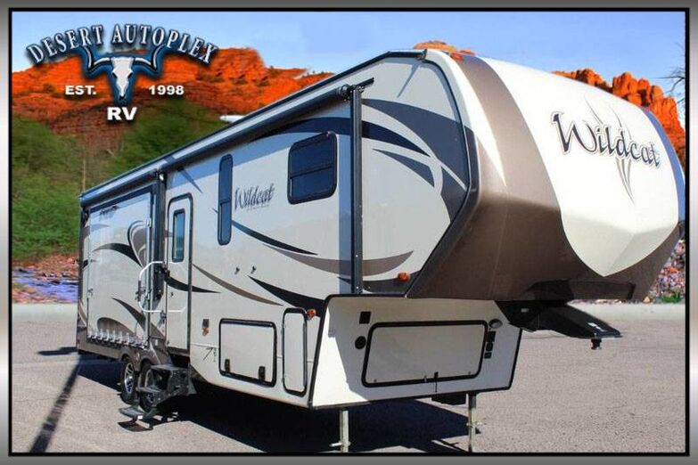 2018 Forest River Wildcat 29RKP Double Slide 5th Wheel RV Mesa AZ
