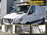 2018 Freightliner Sprinter CUSTOM CARGO 2500 144 RWD with PLUMBING UPFIT $9K PACKAGE