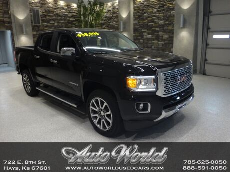 2018 GMC CANYON DENALI CREW 4X4  Hays KS