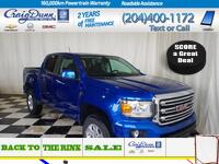 GMC Canyon * Crew SLE 4x4 * REMOTE START * REAR VISION CAMERA * 2018