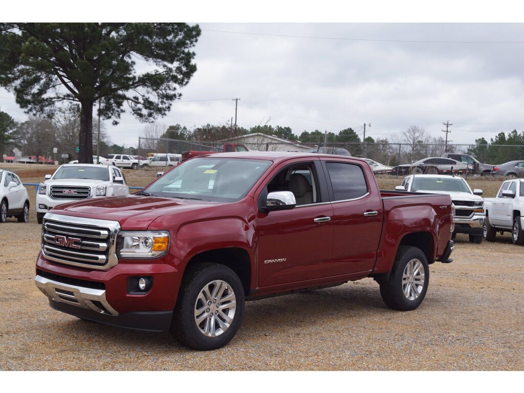 2018 Gmc Canyon Slt Kosciusko Ms 22211764