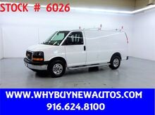 2018_GMC_Savana 2500_~ Ladder Rack & Shelves ~ Only 1K Miles!_ Rocklin CA