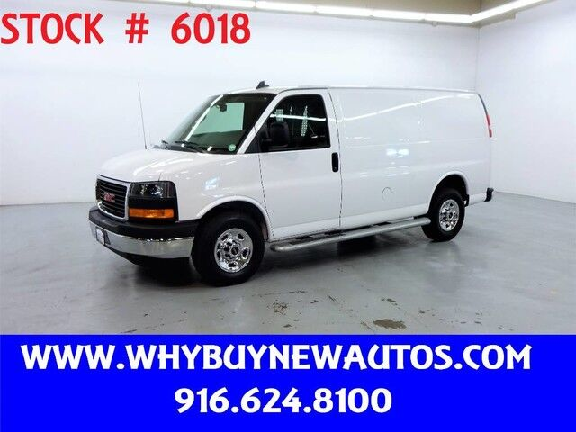 2018 GMC Savana 2500 ~ Only 10K Miles! Rocklin CA