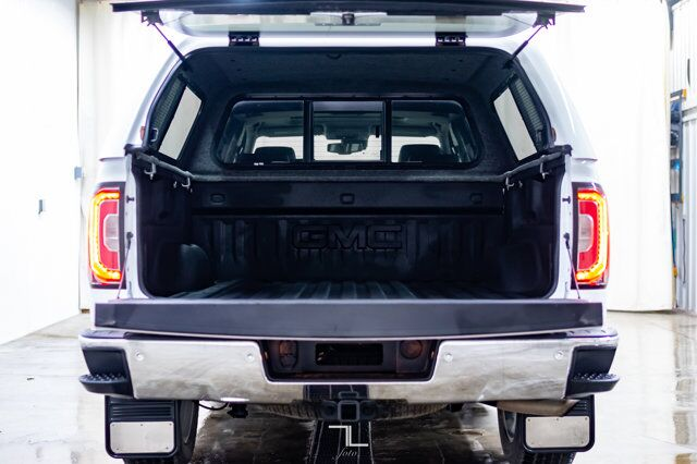 2018 GMC Sierra 1500 4x4 Crew Cab SLT Z71 Leather Roof Nav Red Deer AB