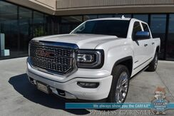 2018_GMC_Sierra 1500_Denali / 4X4 / Ultimate Pkg / Crew Cab / 6.2L V8 / Auto Start / Heated & Cooled Leather Seats / Heated Steering Wheel / Bose / Navigation / Sunroof / Lane Departure / Bluetooth / Back Up Camera / Bed Liner / Tow Pkg / 1-Owner_ Anchorage AK