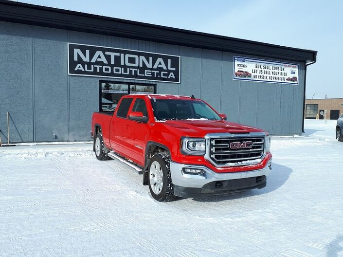 2018 GMC Sierra 1500 SLE - HEATED CLOTH BENCH SEAT, APPLE ANDROID CAR PLAY- BACK UP CAMERA Lethbridge AB
