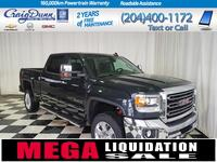 GMC Sierra 2500HD * SLT Crew Cab 4x4 * SUNROOF * NAVIGATION * 2018