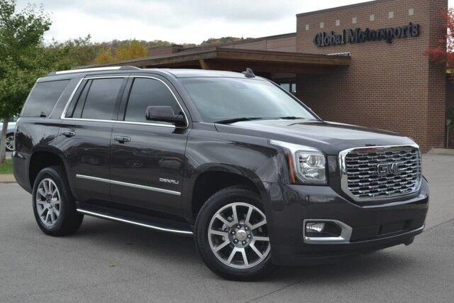 2018 GMC Yukon Denali/4X4/Local Trade/$73,940 MSRP/Rear DVD/Middle Row Captains/Upgraded 20'' Wheels/LTE Hotspot/Heated&Cooled Seats/Heated Steering Wheel/Bose Sound/Like New! Nashville TN