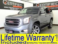 GMC Yukon SLT 4WD 2ND ROW CAPTAIN CHAIRS SUNROOF BLIND SPOT ASSIST LANE ASSIST REAR C 2018