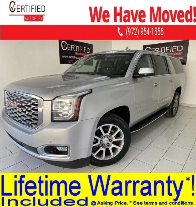 2018 GMC Yukon XL DENALI NAVIGATION BLIND SPOT ASSIST HEADS UP DISPLAY 2ND ROW CAPTAIN SEATS Dallas TX