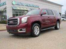 2018_GMC_Yukon XL_SLT 4WD  LEATHER SEATS, NAVIGATION, BLIND SPOT MONITOR, BACKUP CAMERA, COOLED FRONT SEATS_ Plano TX