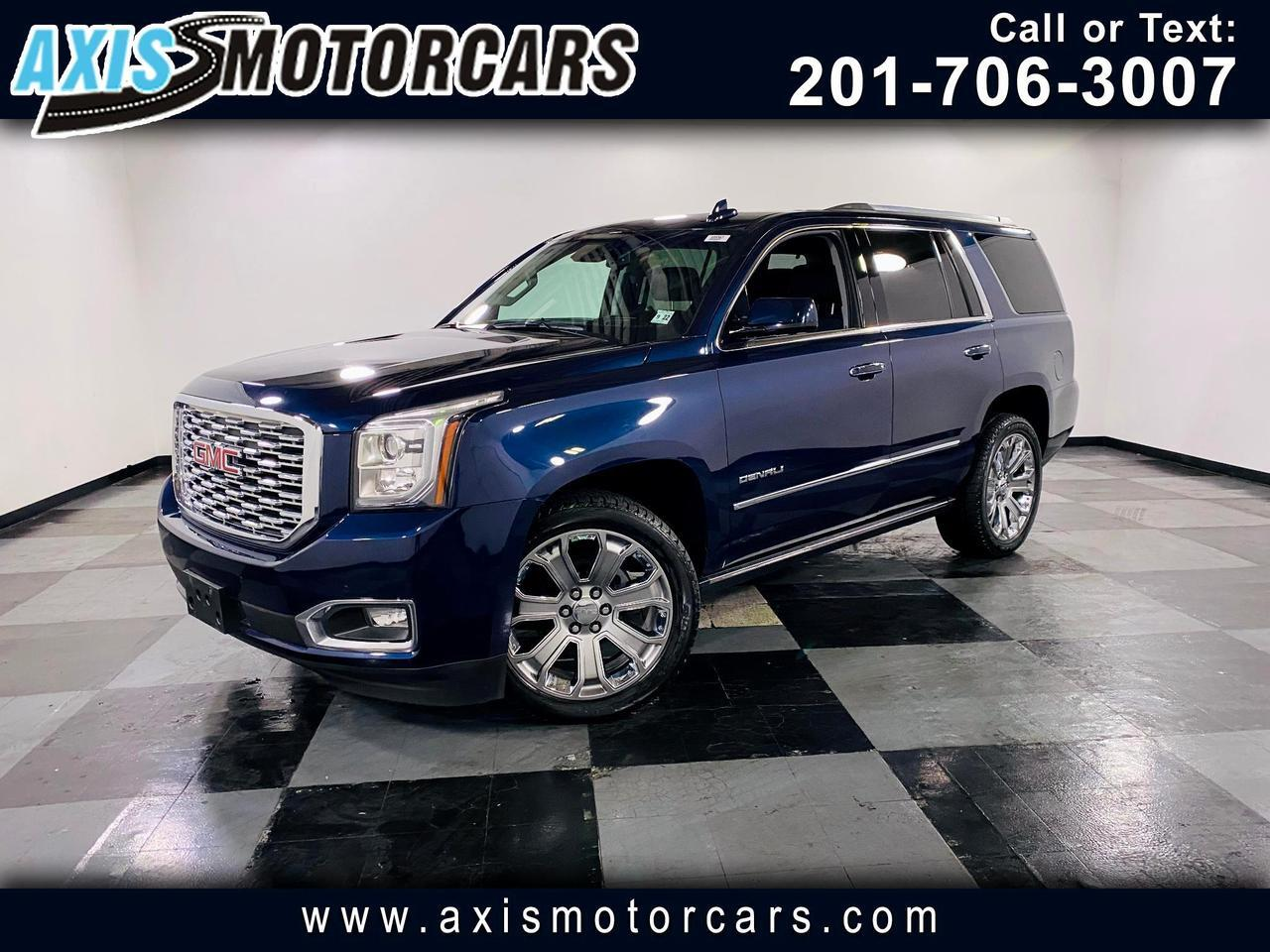 2018 GMC Yukon w/Navigation Backup Camera Sunroof System Bose