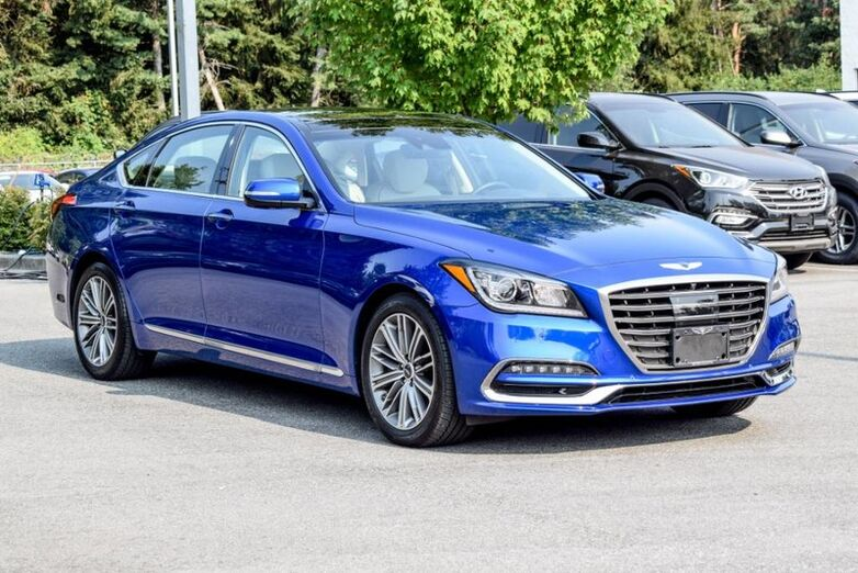 2018 Genesis G80 3.8 Luxury AWD - Fully loaded, Navigation, Leather Maple Ridge BC