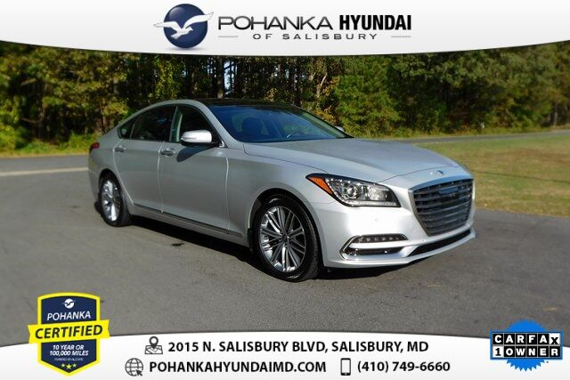 2018 Genesis G80 3.8 **ONE OWNER**RARE TRADE** Salisbury MD