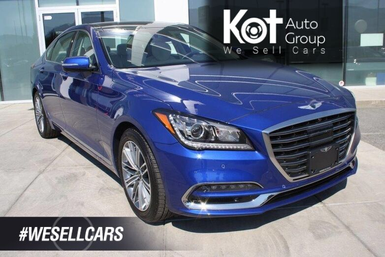 2018 Genesis G80 3.8 Technology low rates 1.99-2.99% Kelowna BC