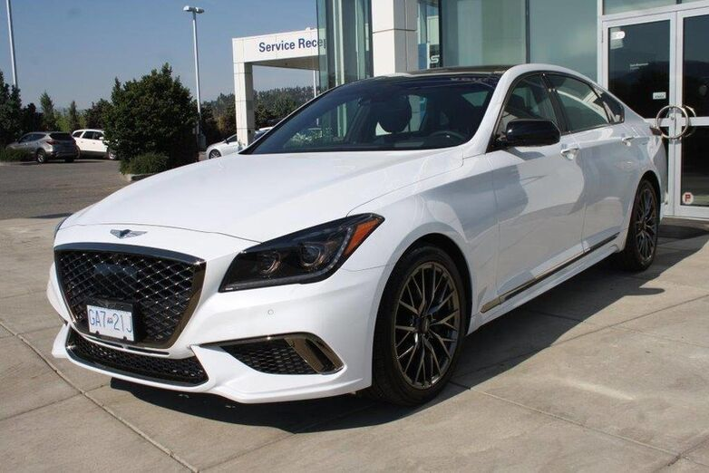2018 Genesis G80 SPORT 3.3T AWD low rates 1.99-2.99% Penticton BC