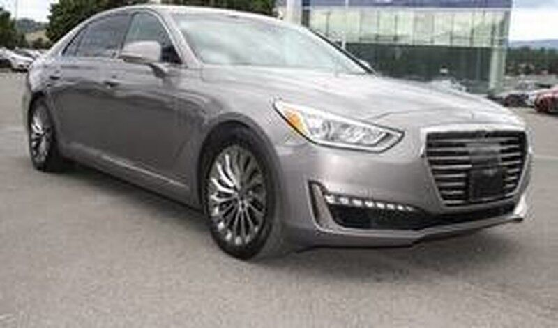 2018 Genesis G90 5.0L Ultimate Has all the top safety features and options. Kelowna BC