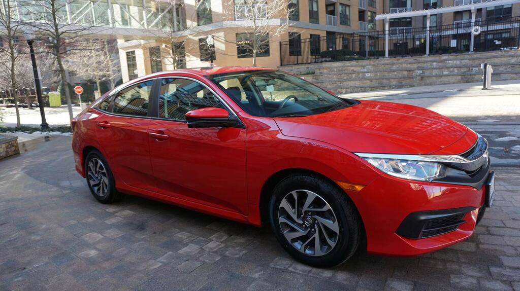 2018 HONDA CIVIC EX Arlington VA