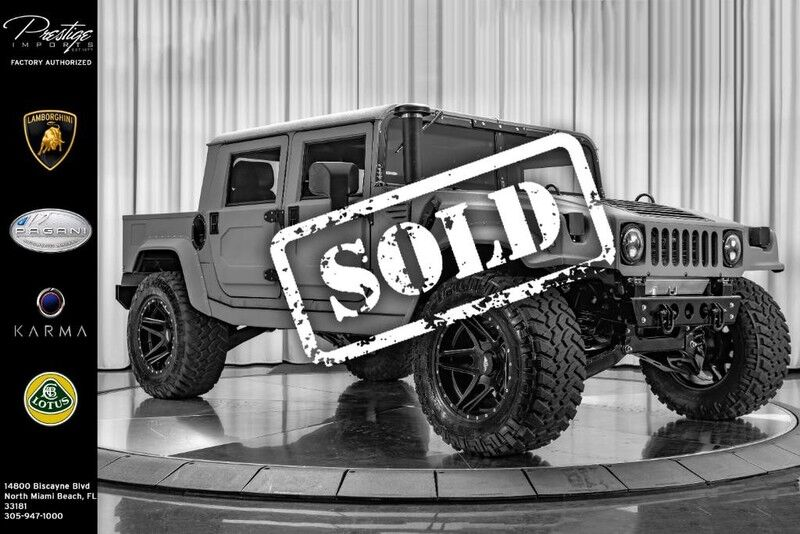 2018_HUMMER_Mil-Spec Automotive Hummer H1__ North Miami FL