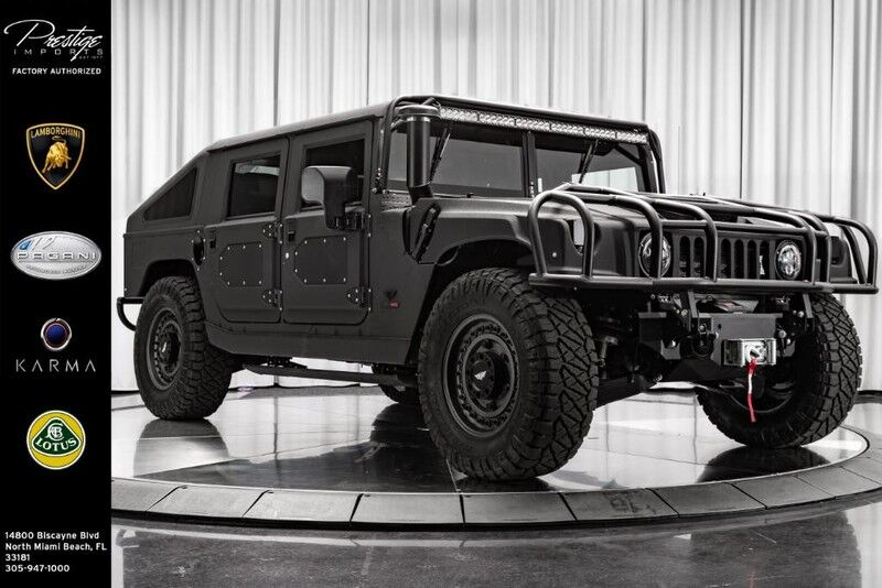 2018_HUMMER_Mil-Spec Automotive Hummer H1__ North Miami Beach FL