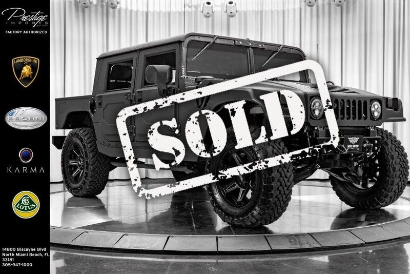 2018_HUMMER_No Model_Mil-Spec Automotive Hummer H1_ North Miami FL