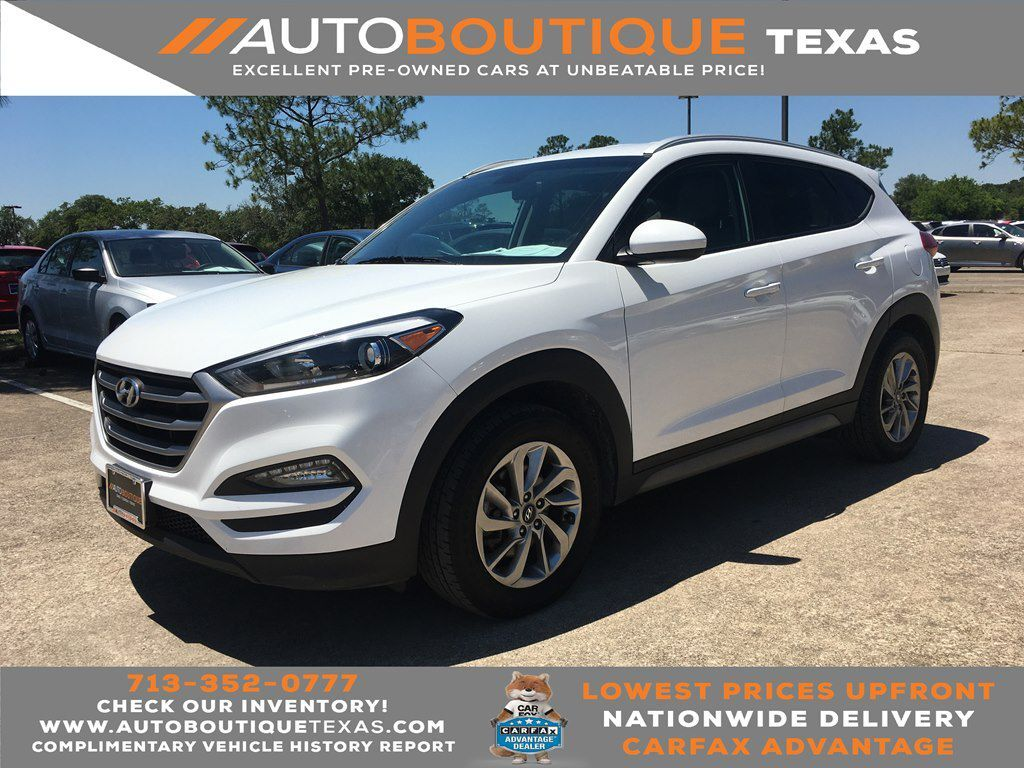 2018 HYUNDAI TUCSON SEL SEL Houston TX