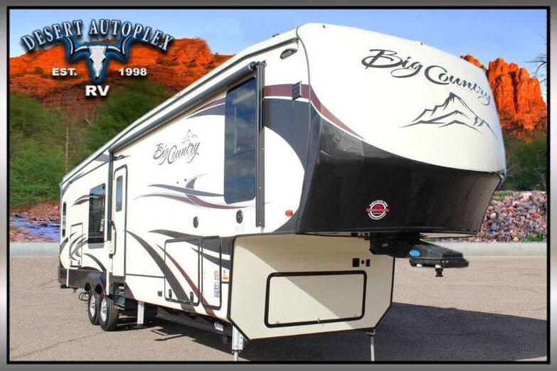 2018 Heartland Big Country 3310QSCK Triple Slide 5th Wheel RV Mesa AZ