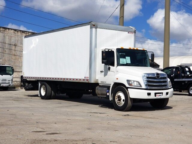 2018 Hino 268 26' Dry Box Truck with 3300 Lbs Lift Gate Miami FL