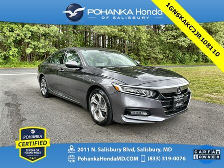 2018_Honda_Accord_EX ** Pohanka Certified 10 Year / 100,000 **_ Salisbury MD