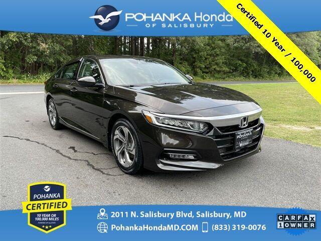 2018 Honda Accord EX-L ** Pohanka Certified 10 Year / 100,000 ** Salisbury MD