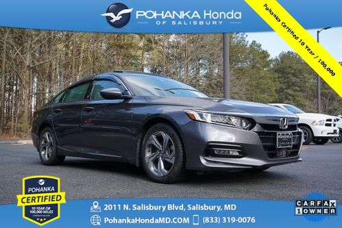 2018_Honda_Accord_EX-L ** Pohanka Certified 10 Year / 100,000  **_ Salisbury MD