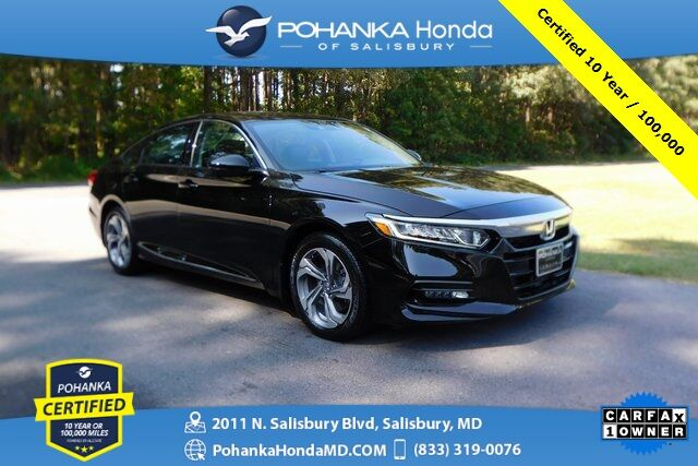 2018 Honda Accord EX-L 2.0T Navi ** Pohanka Certified 10 Year/100,000  ** Salisbury MD
