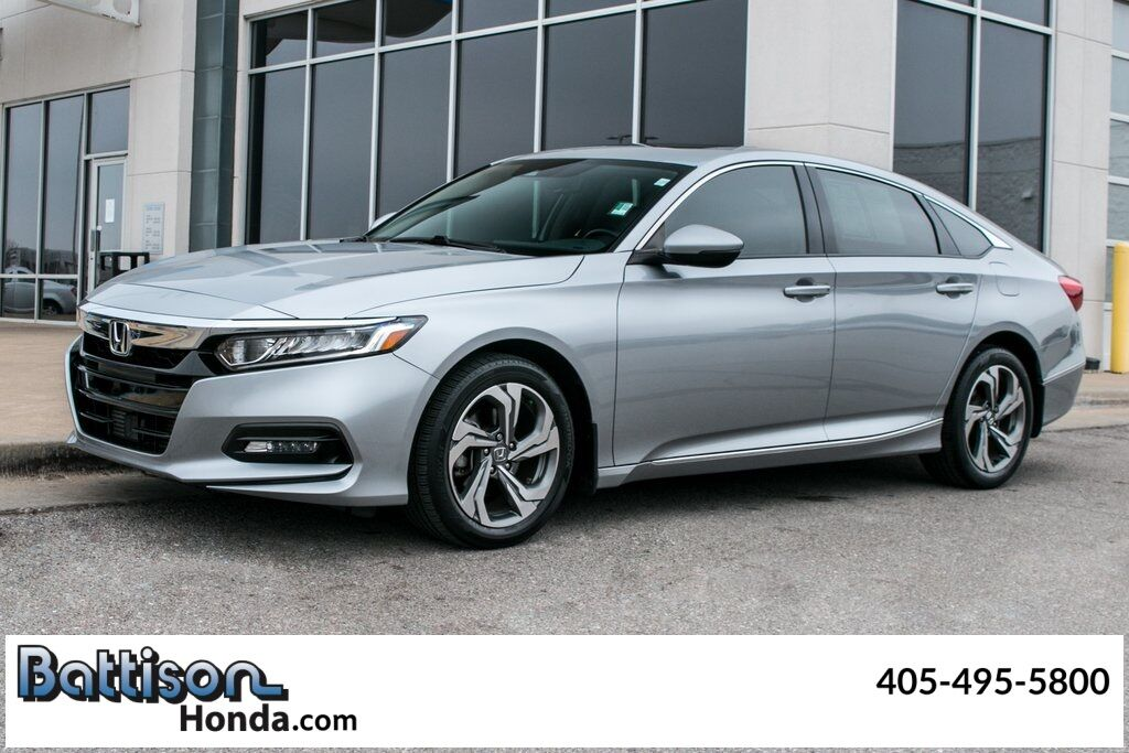 2018_Honda_Accord_EX-L_ Oklahoma City OK
