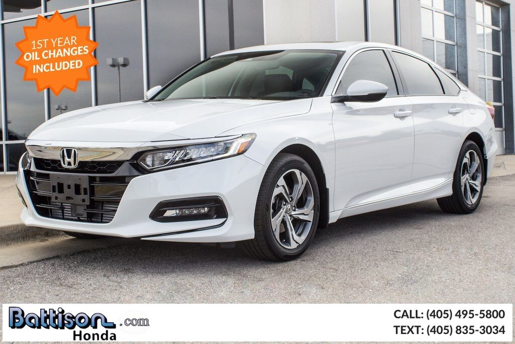 2018_Honda_Accord_EX_ Oklahoma City OK