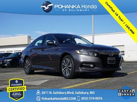 2018_Honda_Accord Hybrid_EX ** Pohanka Certified 10 Year / 100,000 **_ Salisbury MD