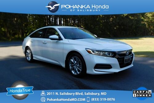 2018_Honda_Accord_LX ** Honda True Certified 7 Year / 100,000  **_ Salisbury MD