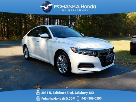 2018_Honda_Accord_LX ** Honda True Certified 7 Year / 100,000  **_ Salisbury MD